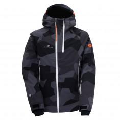2117 of Sweden 3L Kville, shell jacket, men, black camo