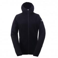 2117 of Sweden Husum, wool jacket, women, black