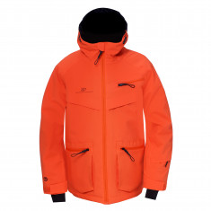 2117 of Sweden Isfall, ski jacket, junior, flame