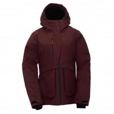 2117 of Sweden Malmen, ski jacket, women, rum raisin