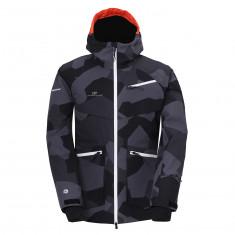 2117 of Sweden Nyhem, ski jacket, men, black camo