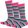 4F Ski Socks, 3 pair, kids, pink