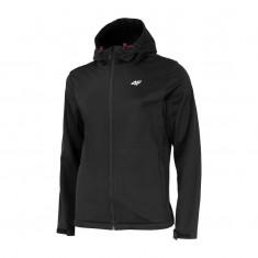 4F Adam, softshell jacket, men, black