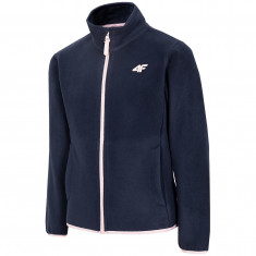 4F Carla fleece jacket, junior, navy
