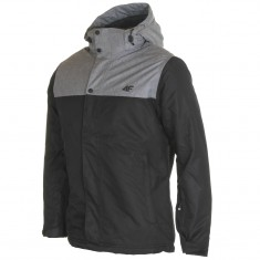 4F Graham ski jacket, men's, black