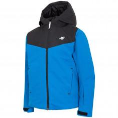 4F Liam, ski jacket, junior, cobalt