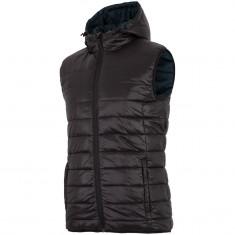 4F Lorenz artificial down vest, men, black