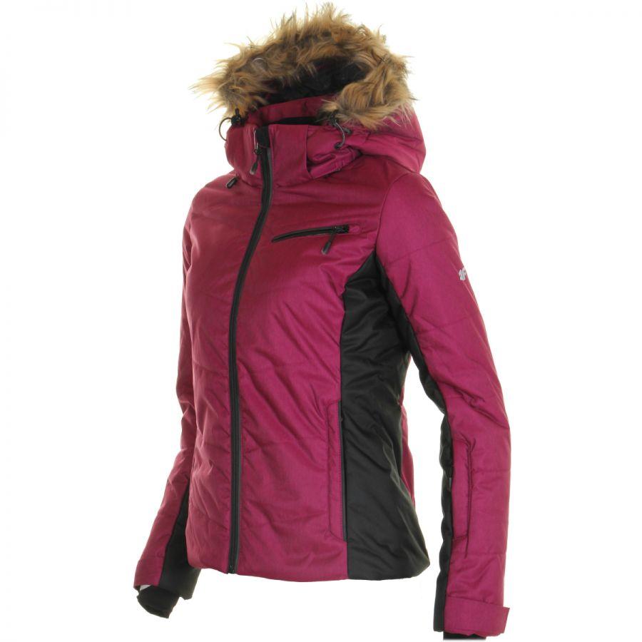 4F Marina womens ski jacket, pink