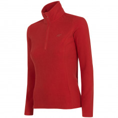 4F Microtherm fleecepulli, women, red
