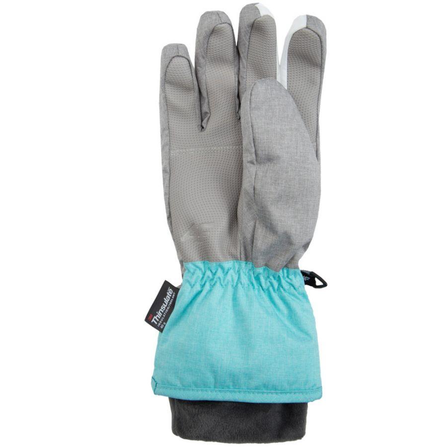 4F NeoDry ski gloves, women, pink