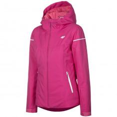 4F Olivia, ski jacket, women, dark pink