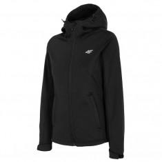 4F Rose, softshell jacket, women, black