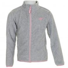 4F Sanna fleece jacket, junior, grey