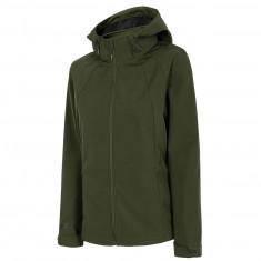 4F Signe, softshell jacket, women, khaki