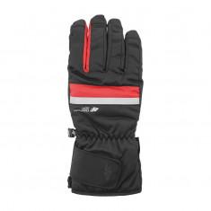4F ski gloves, men, black