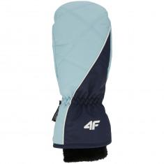4F ski mitten, women, blue