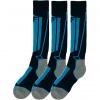 4F ski socks, 3 pair,  junior, navy