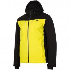 4F William, Skijakke, Herre, Yellow