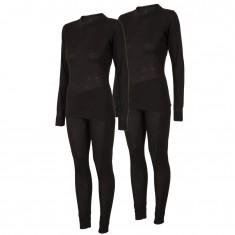 4F/Outhorn 2 set ski underwear, womens, black