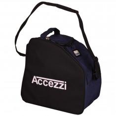 Accezzi Arosa, Støvel- og hjelmbag, Canvasblue/Black
