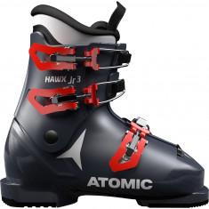 Atomic Hawx Jr 3, skitsøvler, junior, blå, mørkeblå