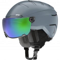 Atomic Savor Visor Stereo GT, Skihjelm med Visir, Grey