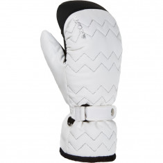 Cairn Abyss In 2 C-Tex, ski mittens, women, white