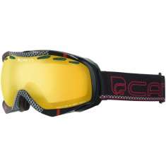 Cairn Alpha, goggles, Black Carbon Red