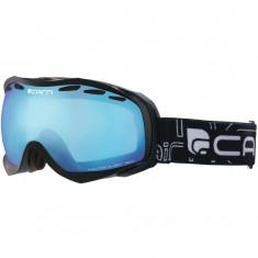 Cairn Alpha, skibriller, Mat Black, Blue Mirror