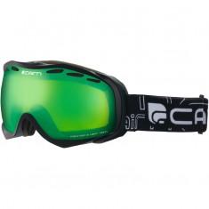 Cairn Alpha, Skibriller, Mat Black, Green Mirror