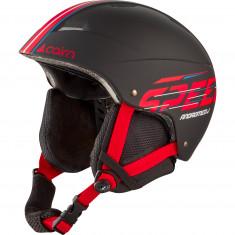 Cairn Andromed, Skihjelm, Junior, Black Red Speed