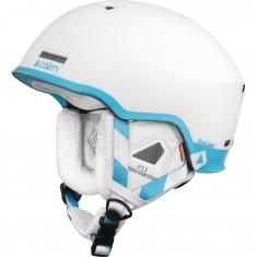Cairn Centaure Rescue, Skihjelm, Mat White Turquoise
