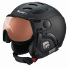 Cairn Cosmos Photochromic, ski helmet with Visor, black