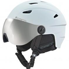Cairn Electron, junior skihjelm med visir, mat hvid