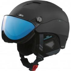 Cairn Spectral Visor Magnet 2 IUM, ski helmet with visor, blackazure