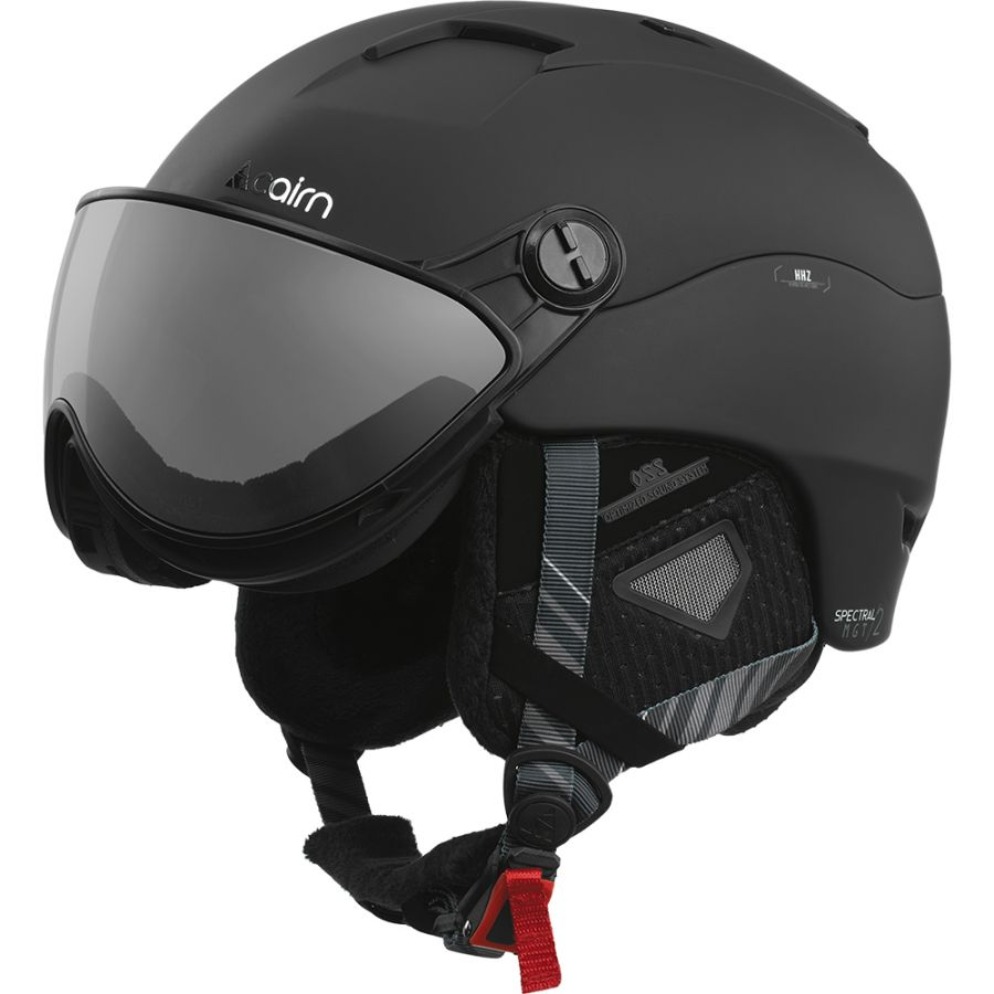 Cairn Spectral Visor Magnet 2, ski helmet with Visor, black