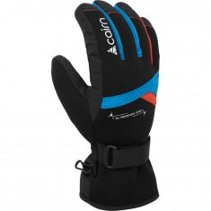 Cairn Styl C-Tex, ski gloves, junior, azure scarlet