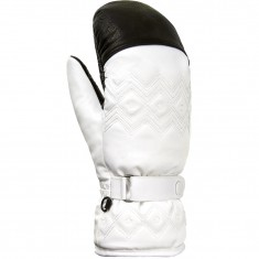 Cairn Ecrins C-Tex, ski mittens, women, white