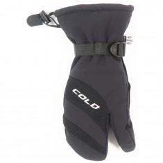Cold Ischgl, 3 finger, skigloves, black
