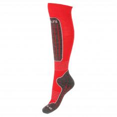 Deluni junior skisokker, 1 par, rød