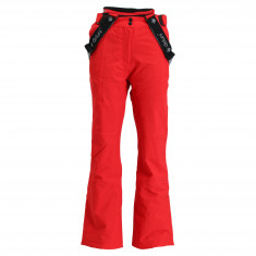 Deluni ski pants, women, red