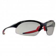 Demon 832 Dchrom Photochromatic, solbriller, carbon rød