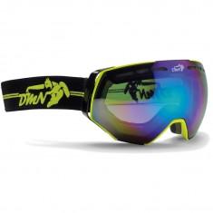 Demon Alpiner goggle, gul