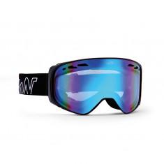 Demon Big Sky, ski goggles, mat black/blue