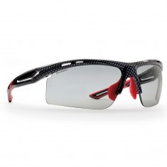 Demon Cabana Dchrom, solbriller, carbon/rød