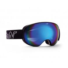Demon Magnet, ski goggles, matt black/blue
