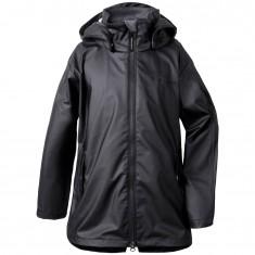 Didriksons Tia Galon, Rain jacket, black