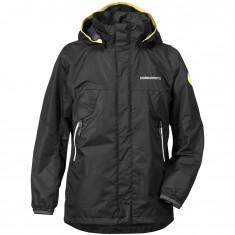 Didriksons Vivid Boy's Jacket, Junior, Black