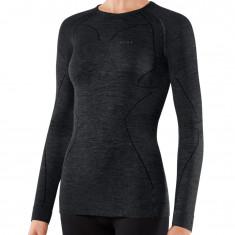 Falke Long Sleeved Shirt Wool-Tech, women, black