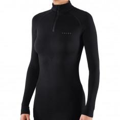 Falke Maximum Warm Long Sleeve Shirt, Dame, Black
